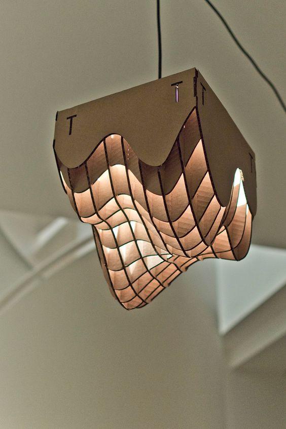 lampadario fai da te cartone 10