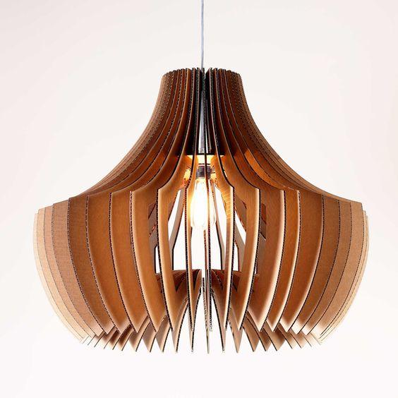 fabriquer un lampadaire en carton voici 20 id es cr atives. Black Bedroom Furniture Sets. Home Design Ideas