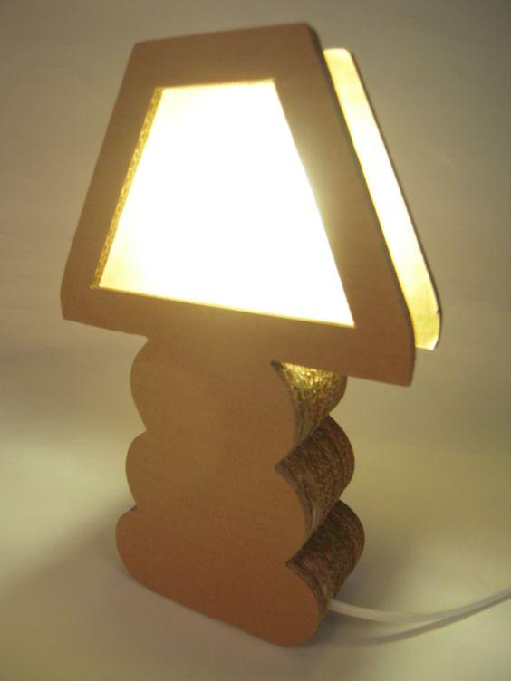 lampadario fai da te cartone 8