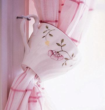 façons originales d'attacher les rideaux