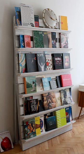 Fabriquer une librairie avec des matériaux de récup