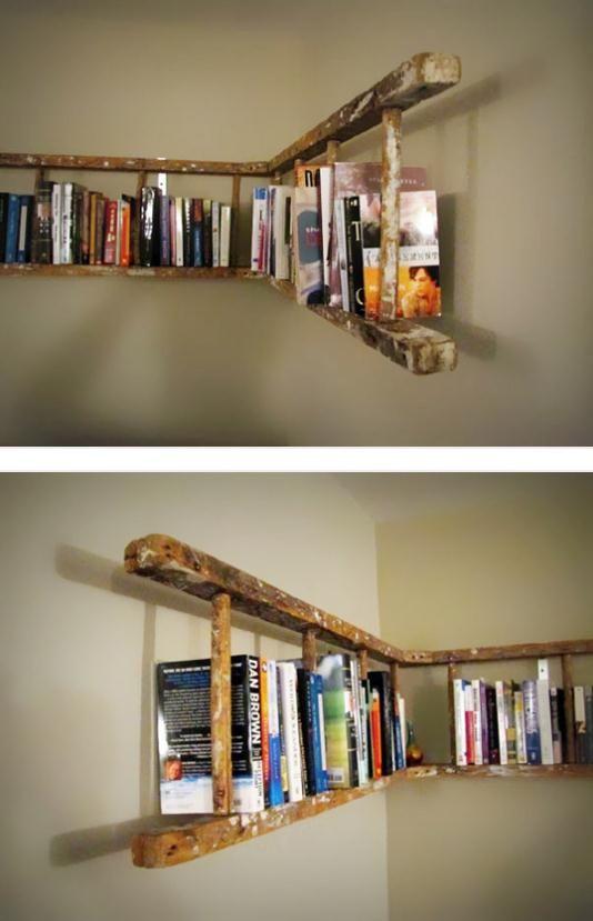 libreria fai da te riciclo 15