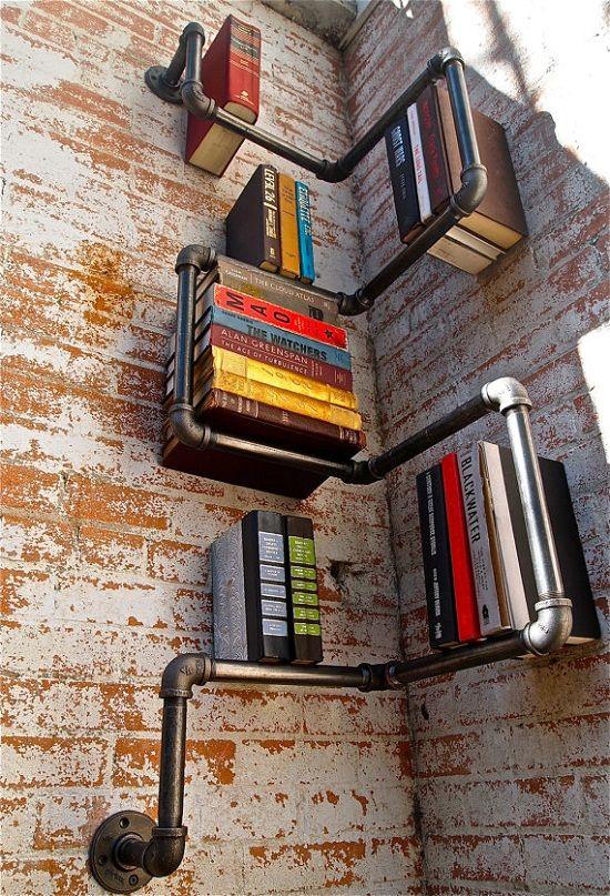 Fabriquer une Bibliothèque avec des matériaux de récup