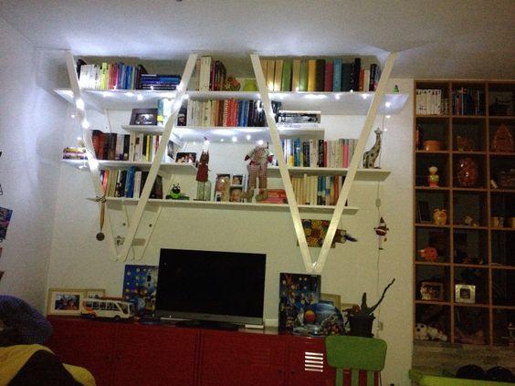 libreria fai da te riciclo 18