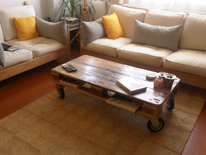 Super Transform palette in a beautiful coffee table! 53 ideas SU87