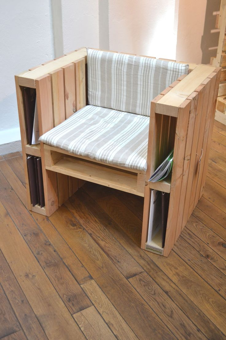 fabriquer un fauteuil avec des palettes voici 20 id es. Black Bedroom Furniture Sets. Home Design Ideas