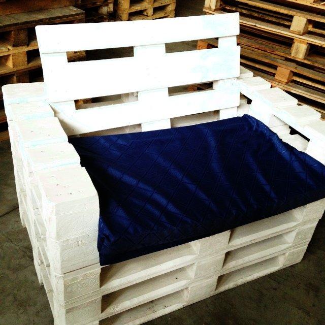 Fabriquer un fauteuil avec des palettes