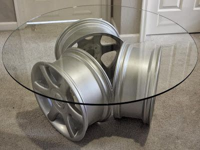 Recyclage créatif des jantes auto