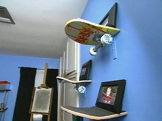 riciclare il vecchio skateboard 11