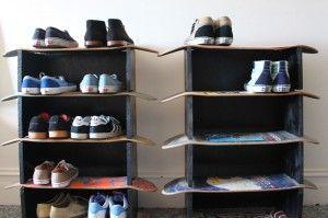 riciclare il vecchio skateboard 12