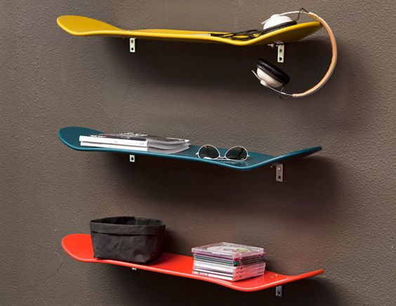 riciclare il vecchio skateboard 14
