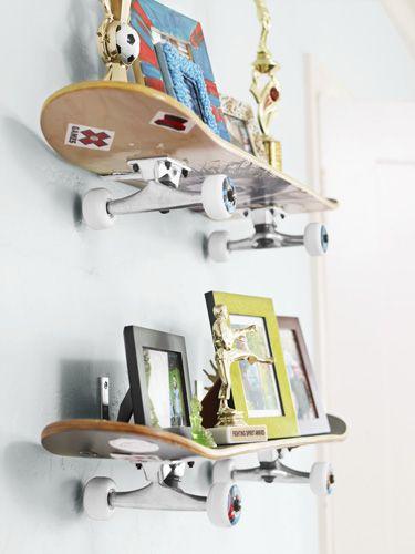 riciclare il vecchio skateboard 15