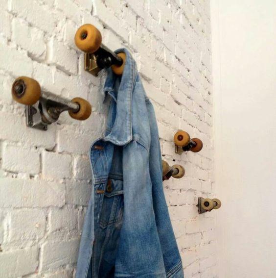 riciclare il vecchio skateboard 2