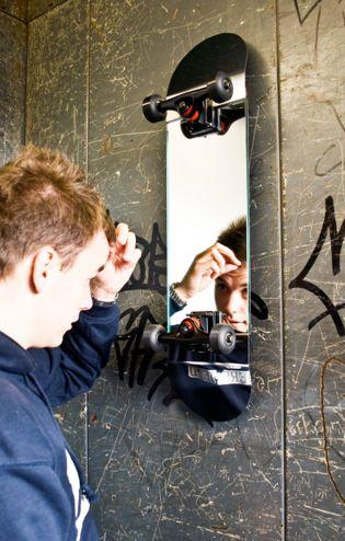 riciclare il vecchio skateboard 3