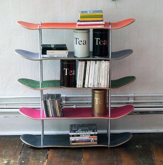 riciclare il vecchio skateboard 8