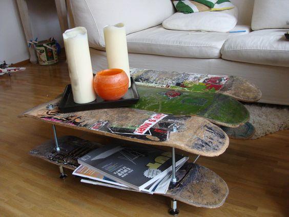 Riciclo creativo Skateboard
