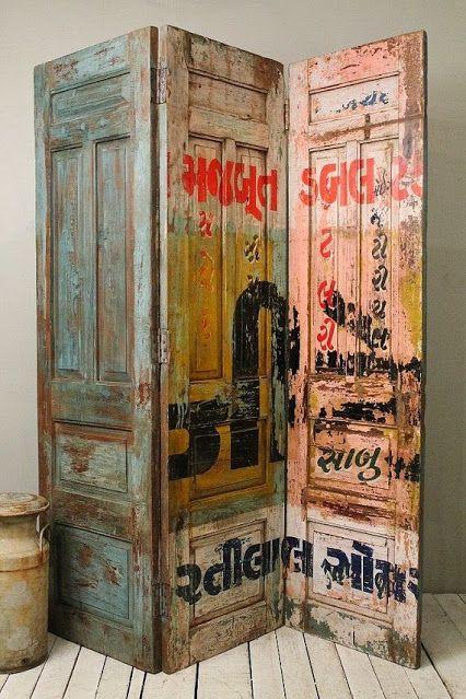 recycler les vieilles portes