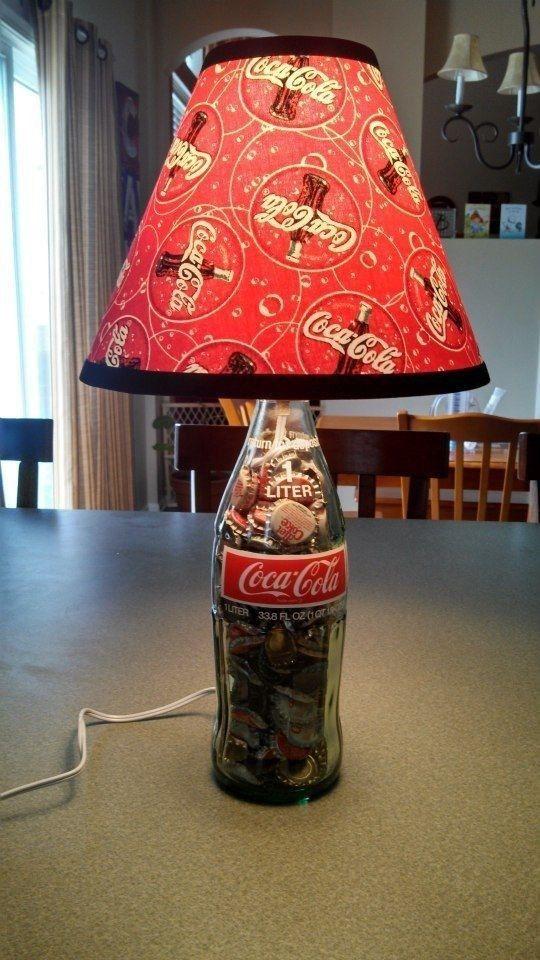 Recycler les bouteilles de Coca