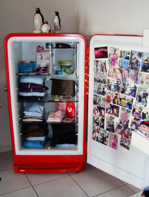 Recycler le vieux frigo