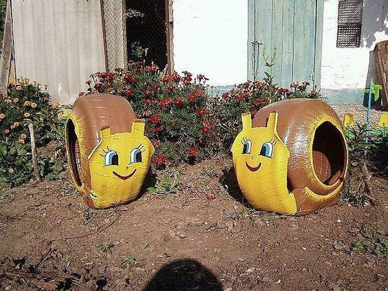 riciclo creativo pneumatici 1