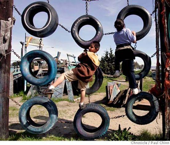 riciclo creativo pneumatici 15
