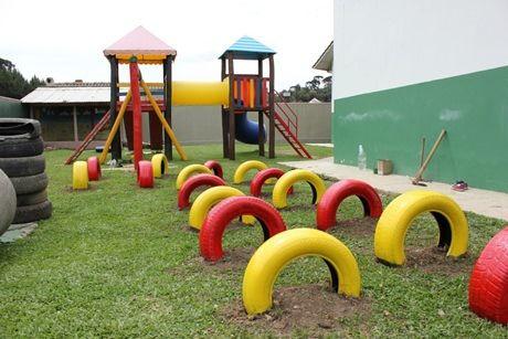 Recycler les pneus jeux pour enfants