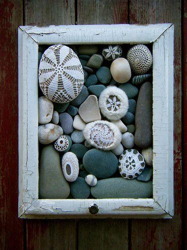 riciclo sassi di mare 12