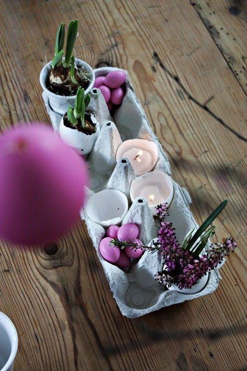 recyclage créatif des boites à oeufs! voici 20 idées