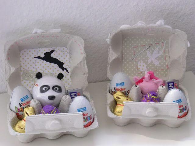 riciclo scatole delle uova 21