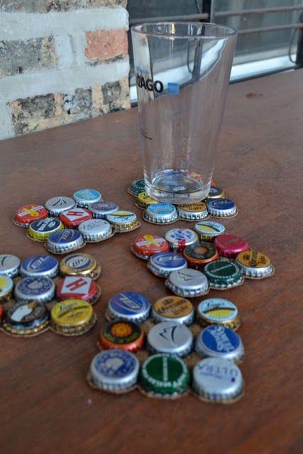riciclo tappi di birra 27