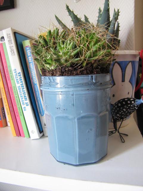 Recycler les pots de confiture