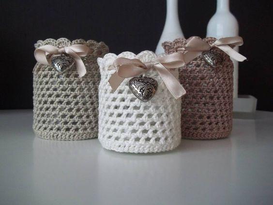 Riciclo creativo vasetti della marmellata