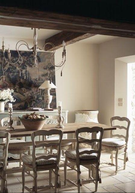 sala da pranzo stile provenzale 6