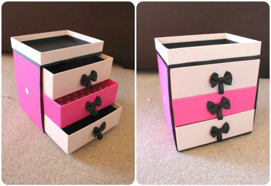 Recycler les boites à chaussure