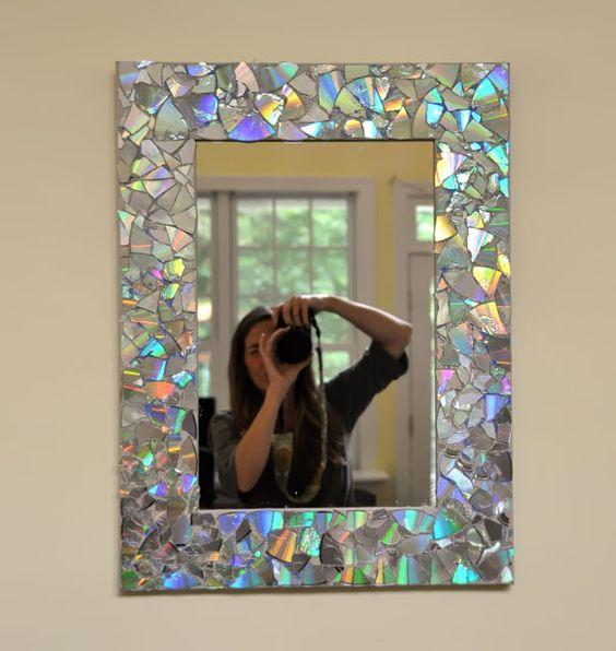 Зеркало декорирование своими руками