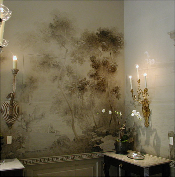 Beautiful-Classic-Formal-Dining-Room-Wall-Murals-Art