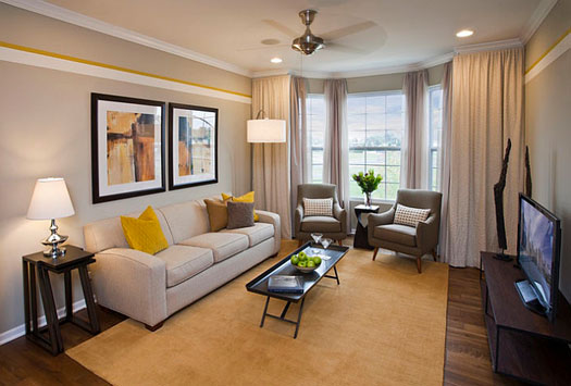 Lighter-shades-of-gray-are-perfect-for-a-comfy-and-relaxed-living-room