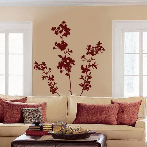 Living-Room-Tropical-Hunting-Wall-Mural-Art