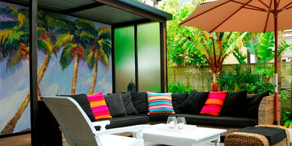 Nice-Tropical-Outdoor-Living-Room-Landscape-Wall-Murals