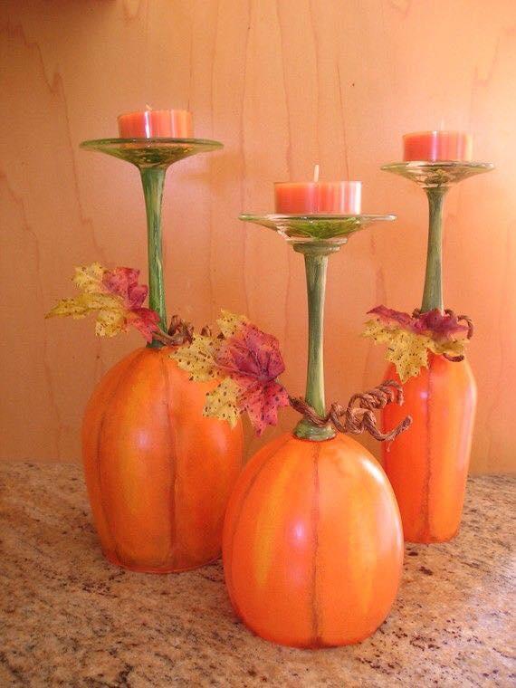 créations originales avec des verres