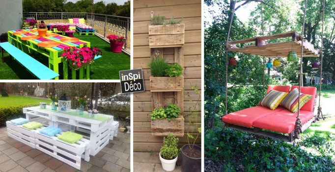 Cr ations en palettes pour votre jardin 20 id es - Que mettre dans un composteur de jardin ...