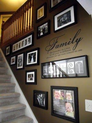 decorare casa con le foto