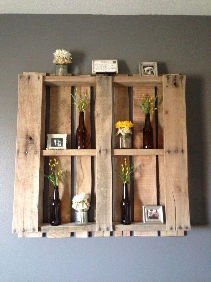 Créer des étagères en palettes