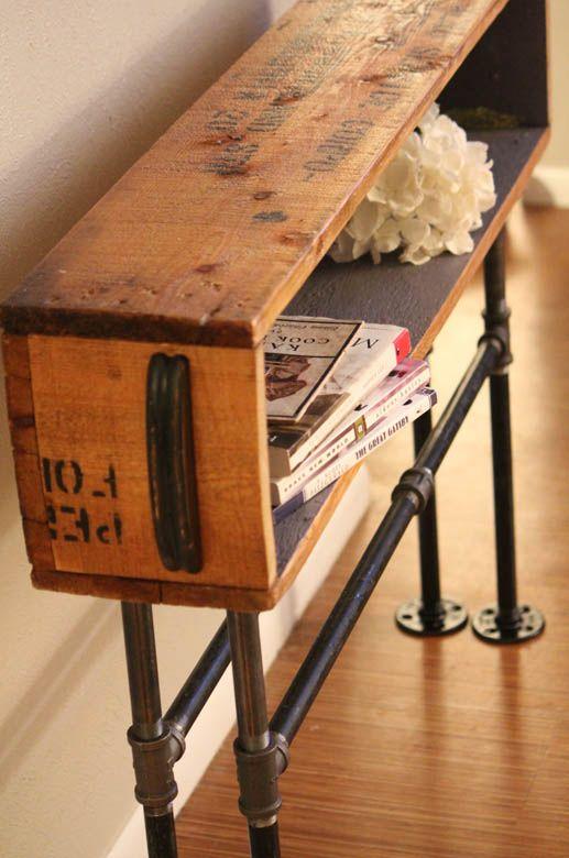 cr er avec les caisses vin voici 20 id es d co. Black Bedroom Furniture Sets. Home Design Ideas