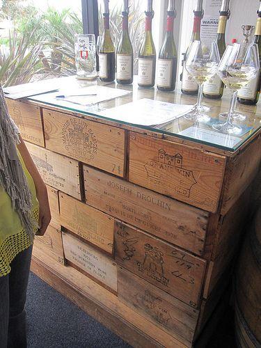 riciclo creativo casse di vino 20