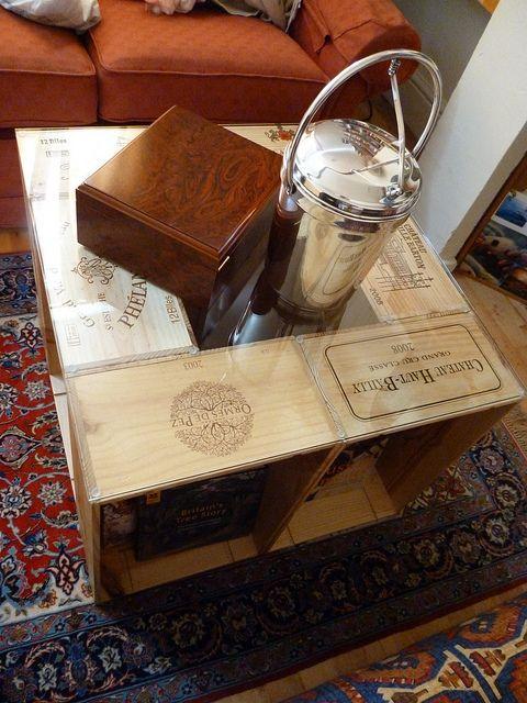 Créer avec les caisses à vin