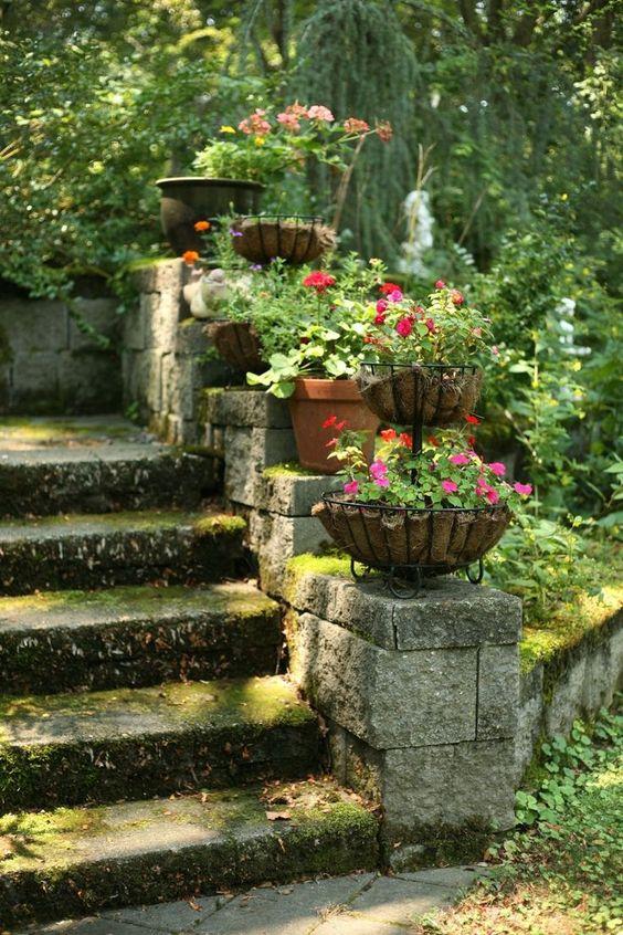 scale con i fiori 7