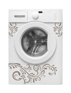 Decorare creativamente la lavatrice