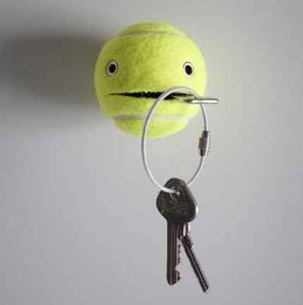 Populaire Déco avec les vieilles balles de tennis! 17 idées YH33