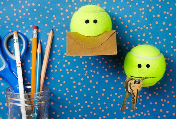 Fabuleux Déco avec les vieilles balles de tennis! 17 idées SV93